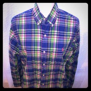 Custom fit Ralph Lauren polo size medium
